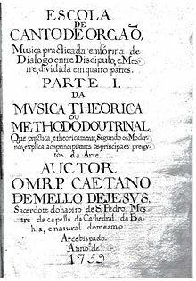 """""""A Escola do Canto de Órgão"""""""