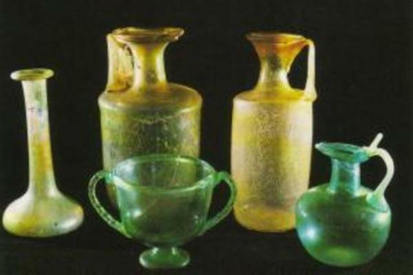 Alfarería, cristal y vidrio