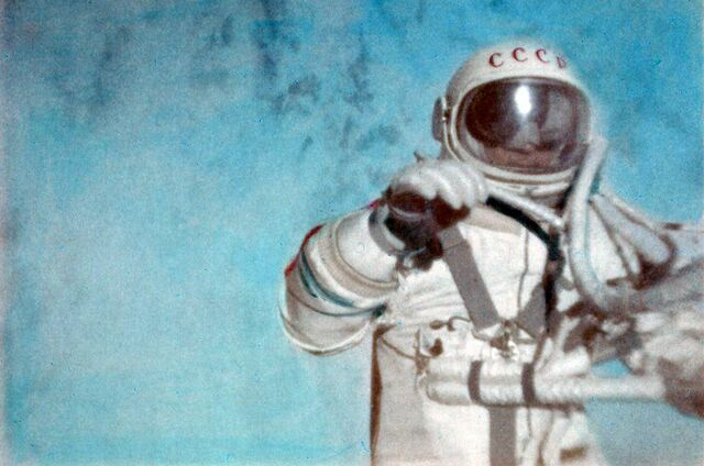 First Man to Perform an EVA by the USSR