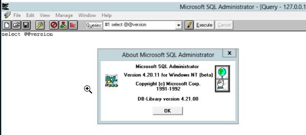 SQL Server 4.2