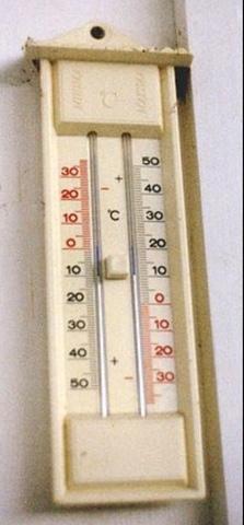 El termómetro