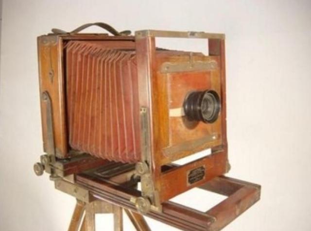 La cámara fotográfica