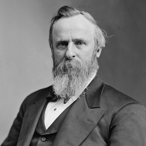 Rutherford B. Hayes is declared president