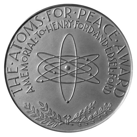 Atoms for peace award