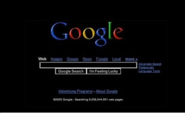 El motor de búsqueda más popular de Internet (google)