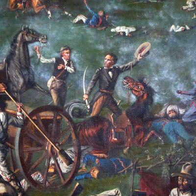 Colonización y Perdida de Texas  timeline