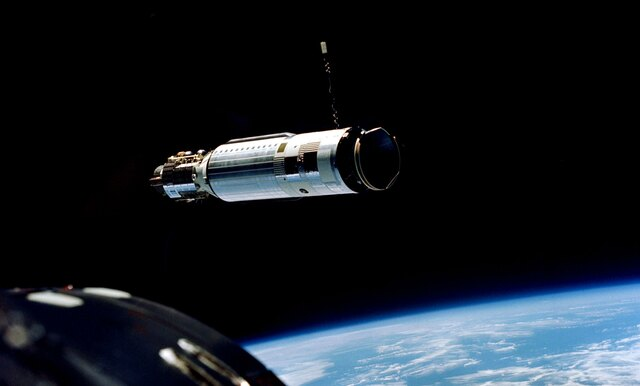 Gemini 8 Docking in Space