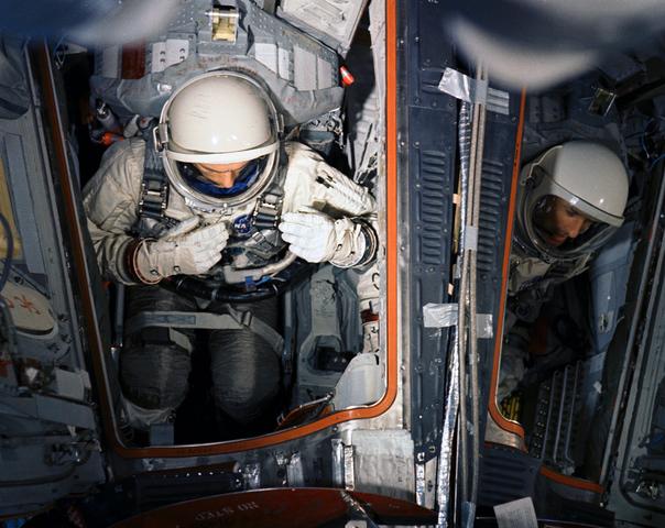 Gemini 9 Attempt at Longest Spacewalk