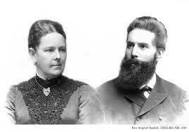 Casamiento de Roentgen con Anna Bertha Ludwig