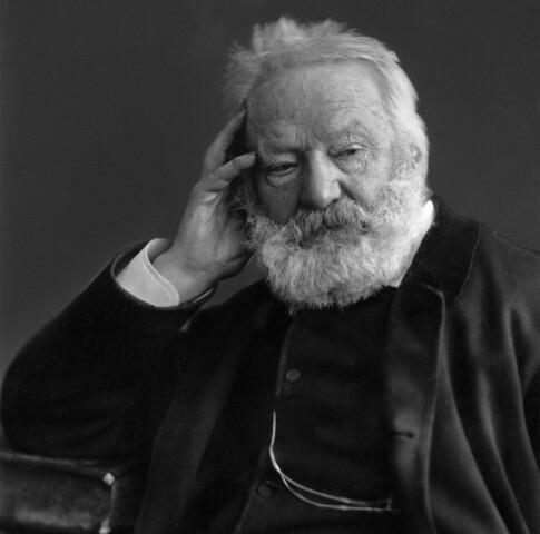 Escritor francés Victor Hugo,