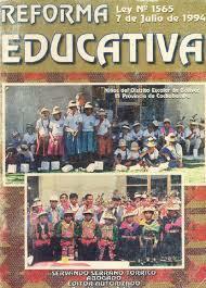 DISCAPACIDAD Y REFORMA EDUCATIVA: BOLIVIA