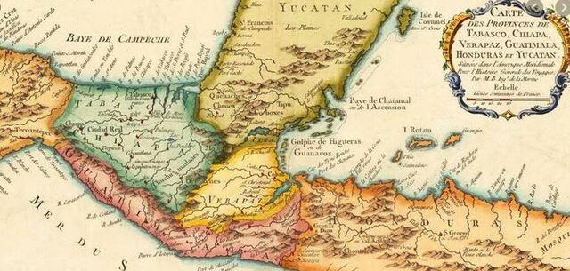Separacion de las Provincias Unidas del Centro de América