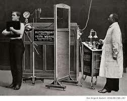Primer departamento de Radiología