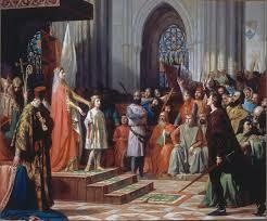 Proclamat rei per les corts de Castella