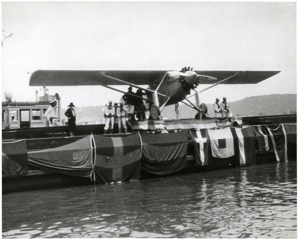 The First Transatlantic Flight