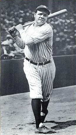Babe Ruth Breaking Home-run Records