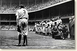 Babe Ruth becomes first player to hit 60 home runs