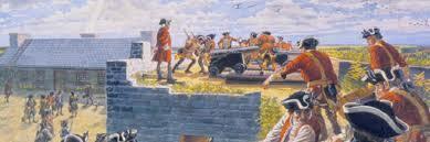 British victory at Fort. Beauséjour (Nova Scotia)