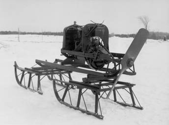 Invention of the first Snowmobile