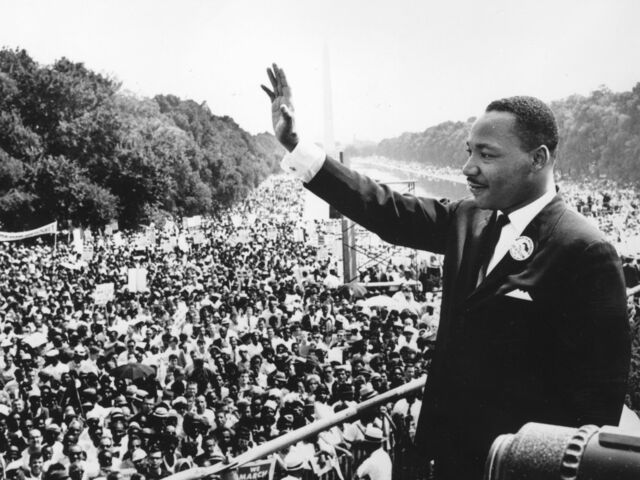 """""""I Have a Dream"""" speech delivered by Dr. Martin Luther King Jr"""