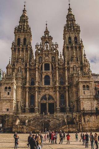 Construcción de la Catedral De Santiago