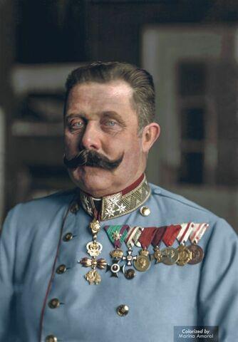 Birth of Franz Ferdinand