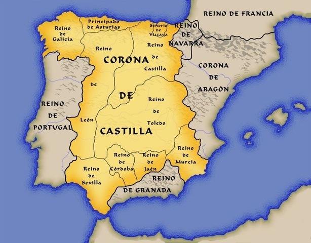 Unión definitiva de Castilla y León, se forma la Corona de Castilla