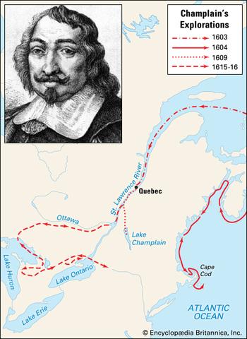 "Samuel de Champlain - ""Father of New France"""