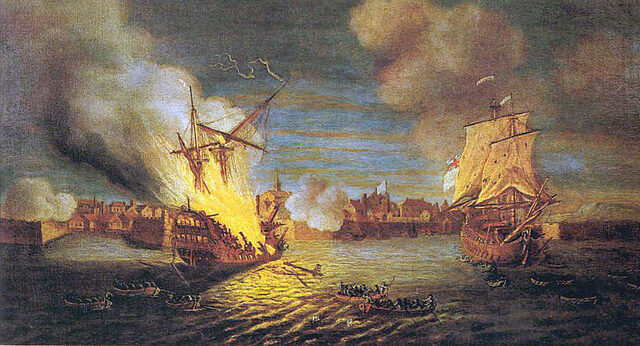 The Siege of Louisbourg.