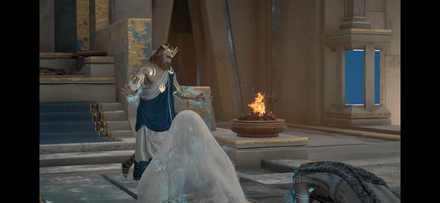 Poseidone cattura Aita e Giunone *
