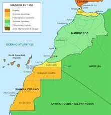 Protectorado hispano francés en Marruecos