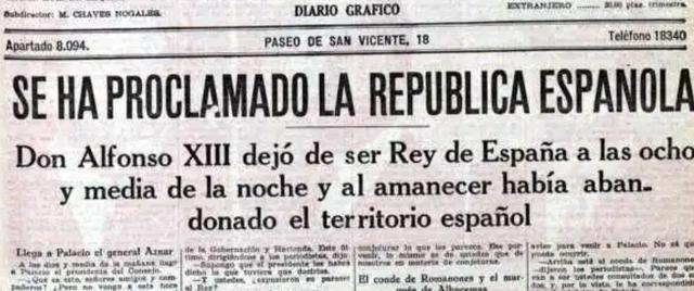 Expulsión de Alfonso XIII