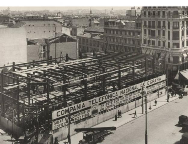 Creación de la Compañía Telefónica Nacional.