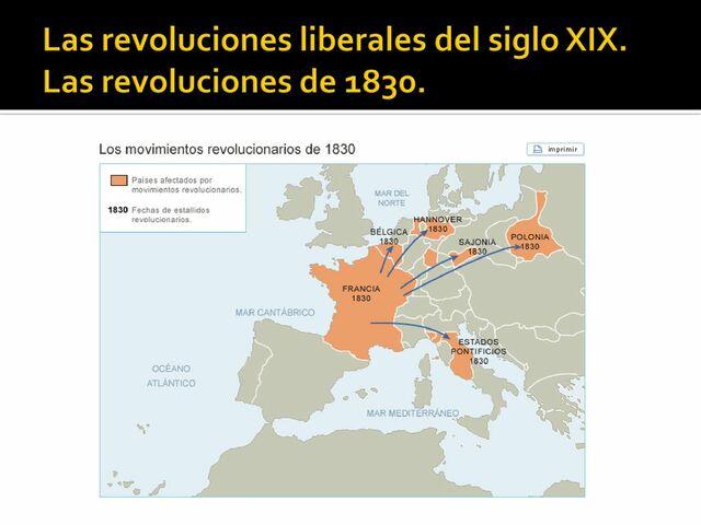 Revoluciones liberales