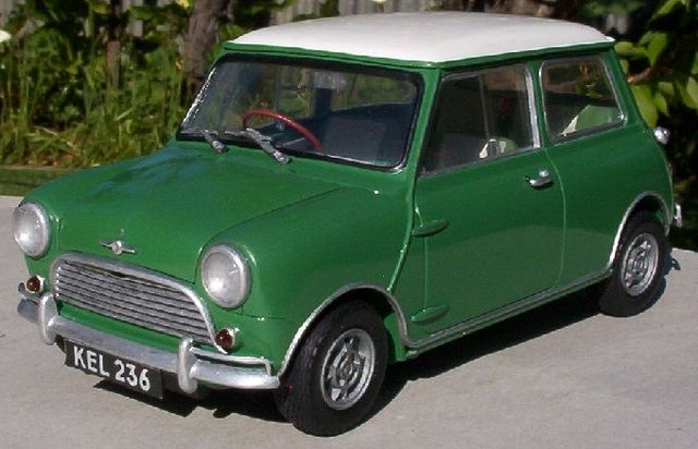 Morris Mini Cooper introduced