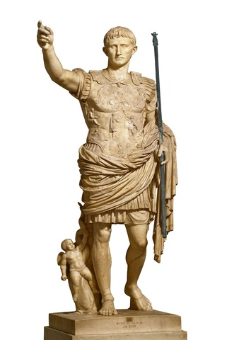 Estatua de Augusto de Prima Porta