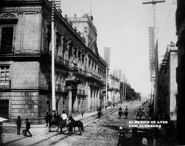 Primer estudio que se realizó en la Ciudad de México