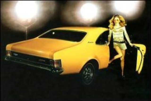 Holden HG Monaro and muscle cars
