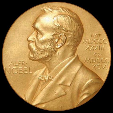 Gana el premio Nobel