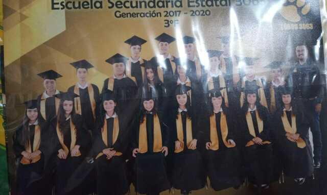 Mi graduacion de la secundaria