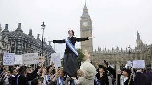 Derecho a las mujeres del Reino Unido a votar