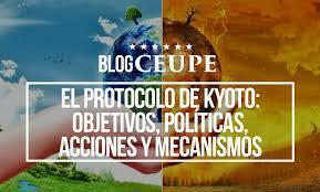 Protocolo de Kioto.