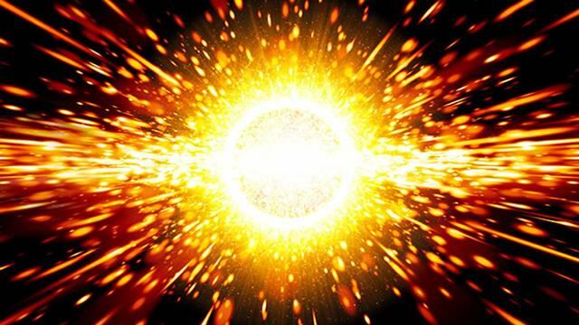 La teoría del Big Bang.