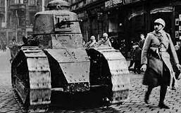 1916 - Los tanques de guerra