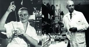 Severo Ochoa y Marianne Grumberg-Manago descubrien la polinucleótido fosforilasa