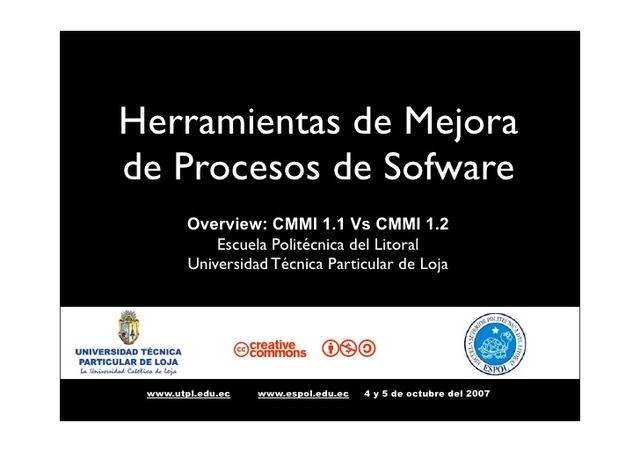 CMM for Software V1.1