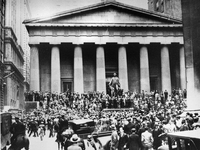 Caida de la bolsa de valores de Nueva York
