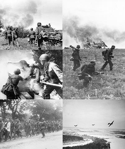Inicio de la invasión alemana a la URSS