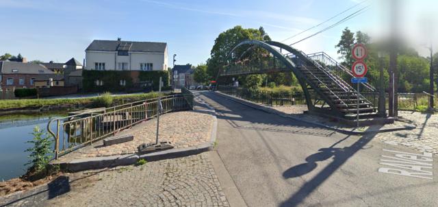 Pont tournant d'Arquennes, Seneffe