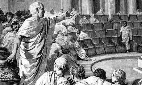 """Se incorpora a los docentes griegos la llegada de """"la retorica"""""""